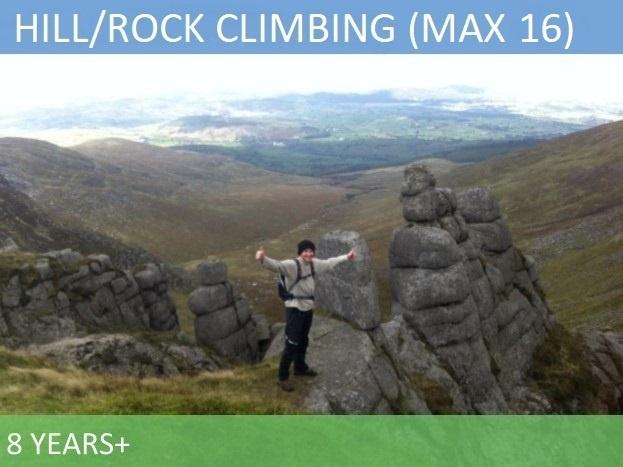 Hill Waliing / Rock Climbing